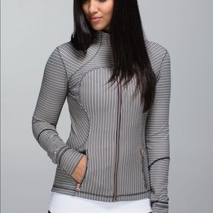 Lululemon Pine Stripe Forme Jacket